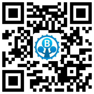 behaviac website's QR code
